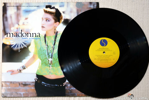"Madonna ‎– Like A Virgin (1984) 12"" Maxi-Single"