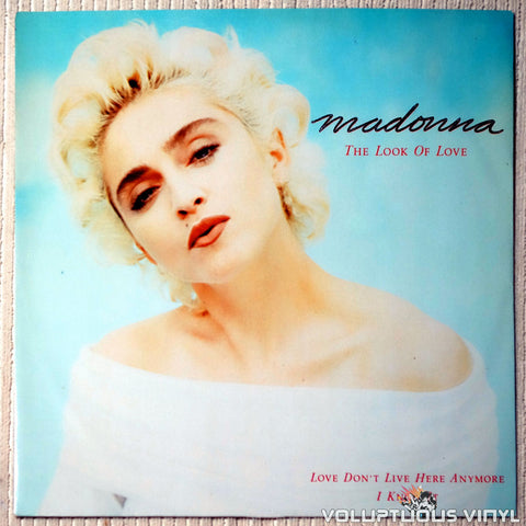 Madonna ‎– The Look Of Love - Vinyl Record - Front Cover