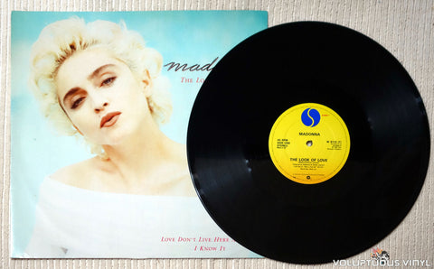 Madonna ‎– The Look Of Love - Vinyl Record