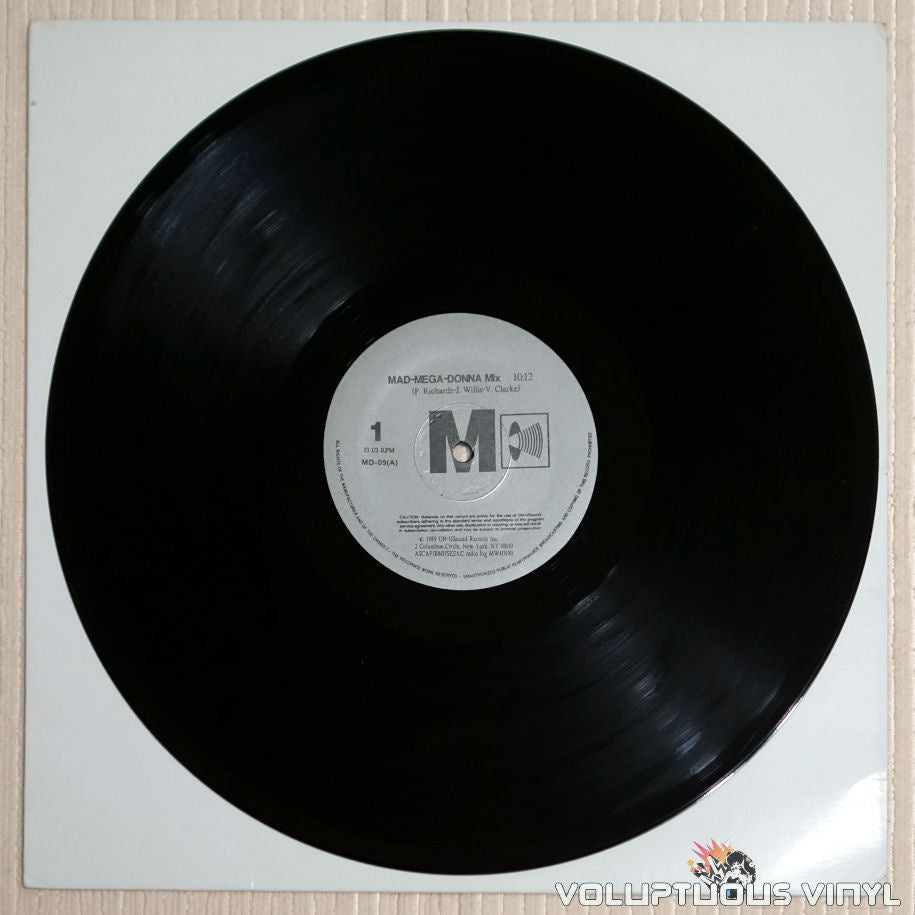 Madonna ‎– Mad-Mega-Donna Mix - Vinyl Record