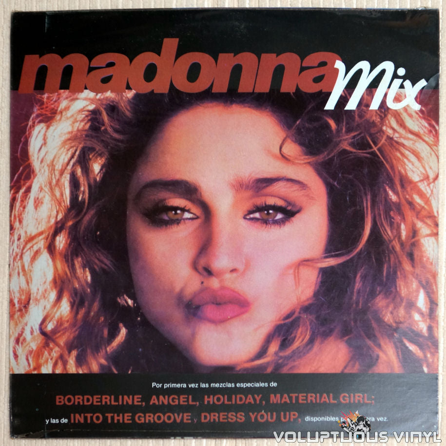 Madonna ‎– Madonna Mix - Vinyl Record - Front Cover