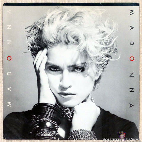 Madonna ‎– Madonna vinyl record front cover