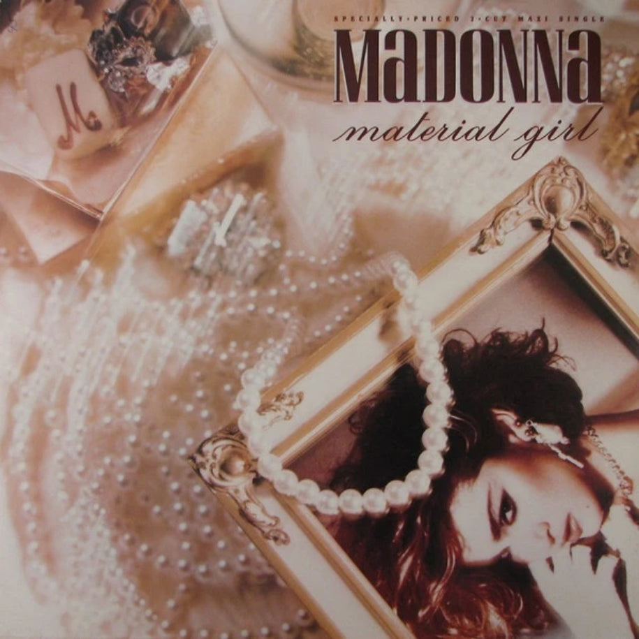 Madonna ‎– Material Girl vinyl record front cover