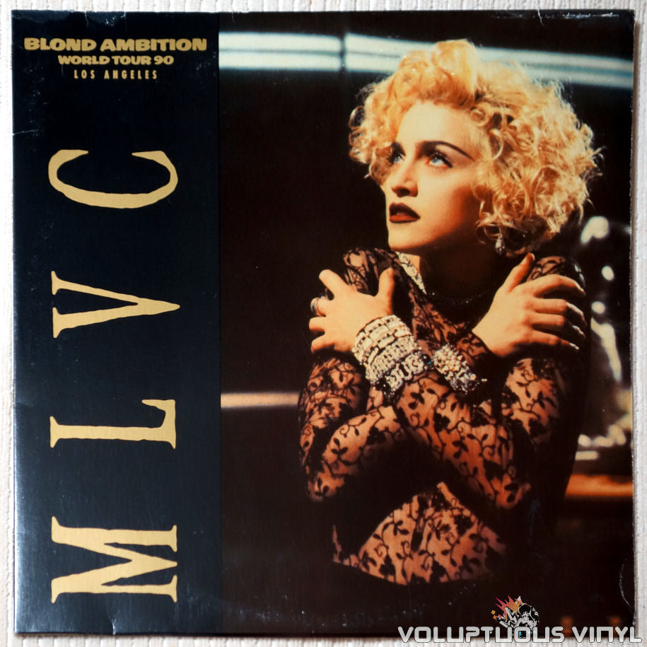 Madonna ‎– MLVC (Blond Ambition World Tour, Los Angeles) - Vinyl Record - Front Cover