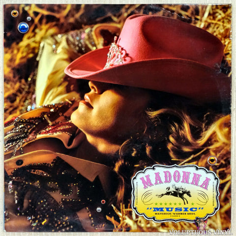 Madonna ‎– Music vinyl record front cover
