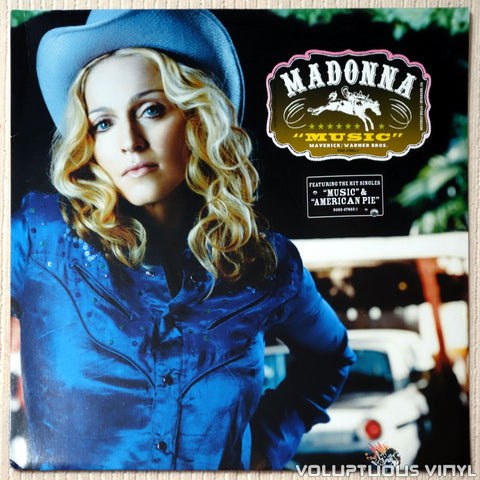 Madonna ‎– Music - Vinyl Record - Front Cover