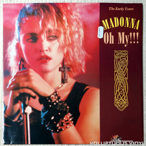 "Madonna & Otto Von Wernherr ‎– Oh My!!! (1990) 12"" Maxi-Single, UK Press"