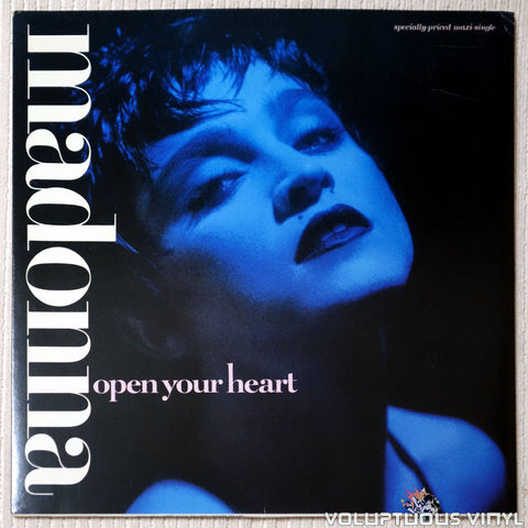 Madonna ‎– Open Your Heart - Vinyl Record - Front Cover