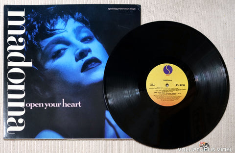 Madonna ‎– Open Your Heart - Vinyl Record
