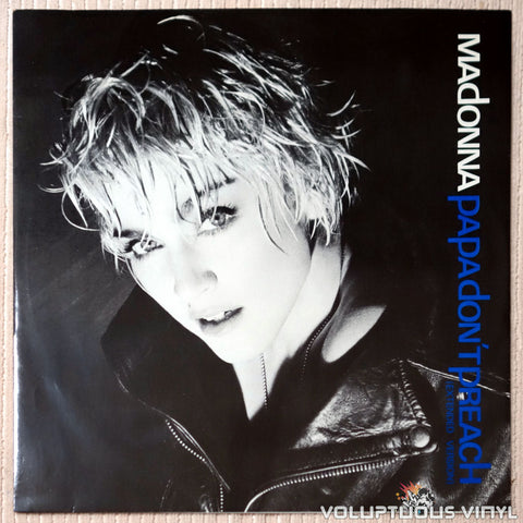 Madonna ‎– Papa Don't Preach - Vinyl Record - Front Cover