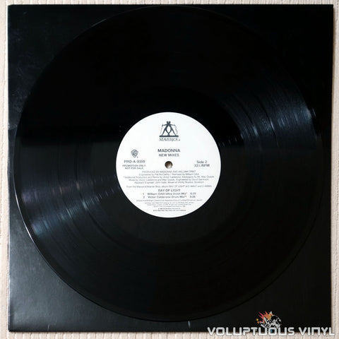 Madonna ‎– Ray Of Light (New Mixes) - Vinyl Record - Side 2