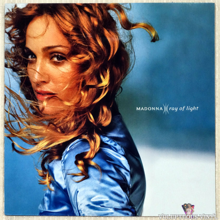 Madonna ‎– Ray Of Light vinyl record front cover