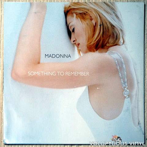 Madonna ‎– Something To Remember - Vinyl Record - Front Cover