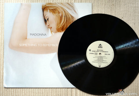 Madonna ‎– Something To Remember - Vinyl Record