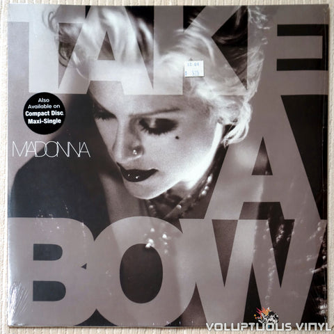 Madonna ‎– Take A Bow - Vinyl Record - Front Cover