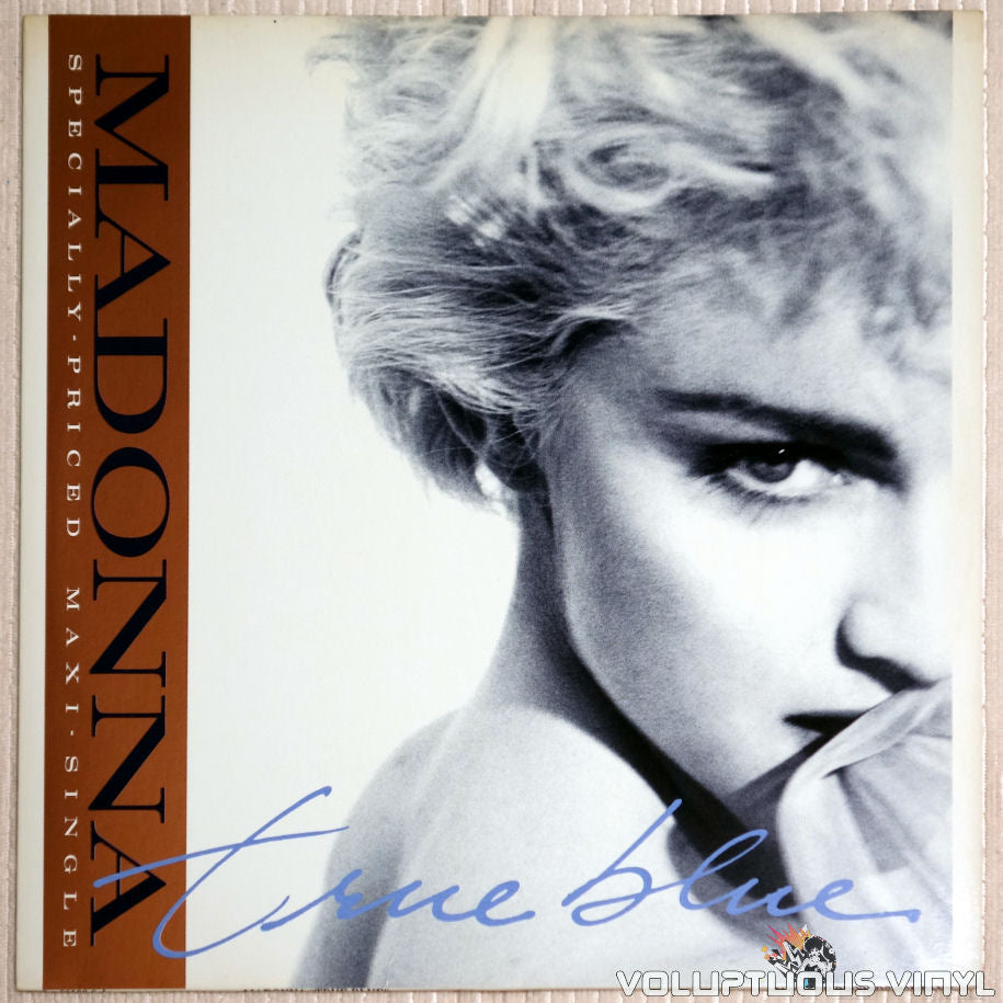 Madonna ‎– True Blue - Vinyl Record - Front Cover