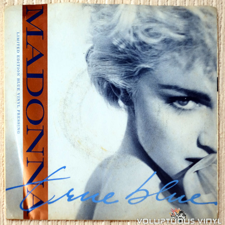 Madonna ‎– True Blue vinyl record front cover