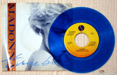 Madonna ‎– True Blue vinyl record