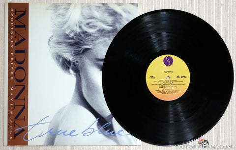 Madonna ‎– True Blue - Vinyl Record