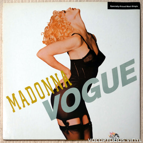 Madonna ‎– Vogue - Vinyl Record - Front Cover