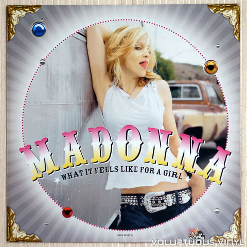 Madonna ‎– What It Feels Like For A Girl - Vinyl Record - Front Cover