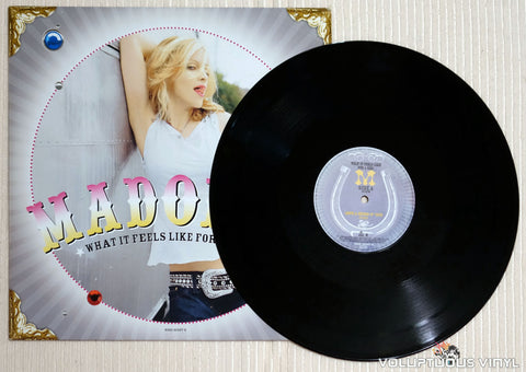 Madonna ‎– What It Feels Like For A Girl - Vinyl Record