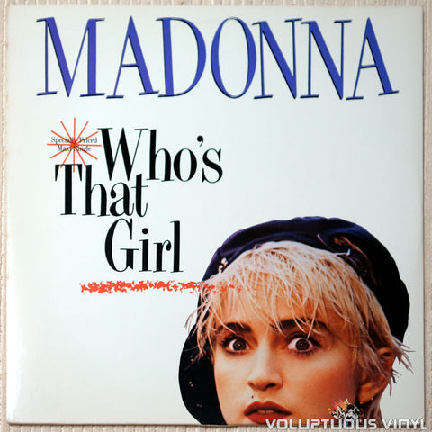 NM / EX: Madonna - Who's That Girl