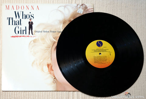 Madonna ‎– Who's That Girl vinyl record