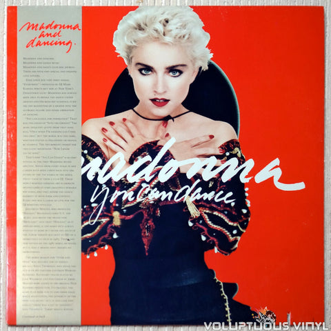 Madonna ‎– You Can Dance - Vinyl Record - Front Cover
