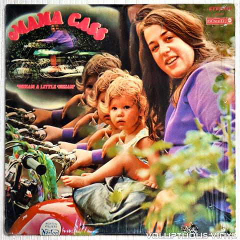 Mama Cass ‎– Dream A Little Dream - Vinyl Record - Front Cover
