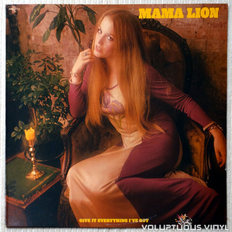 Mama Lion ‎– Give It Everything I've Got - Vinyl Record - Front Cover