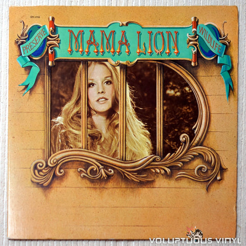 Mama Lion ‎– Preserve Wildlife - Vinyl Record - Front Cover