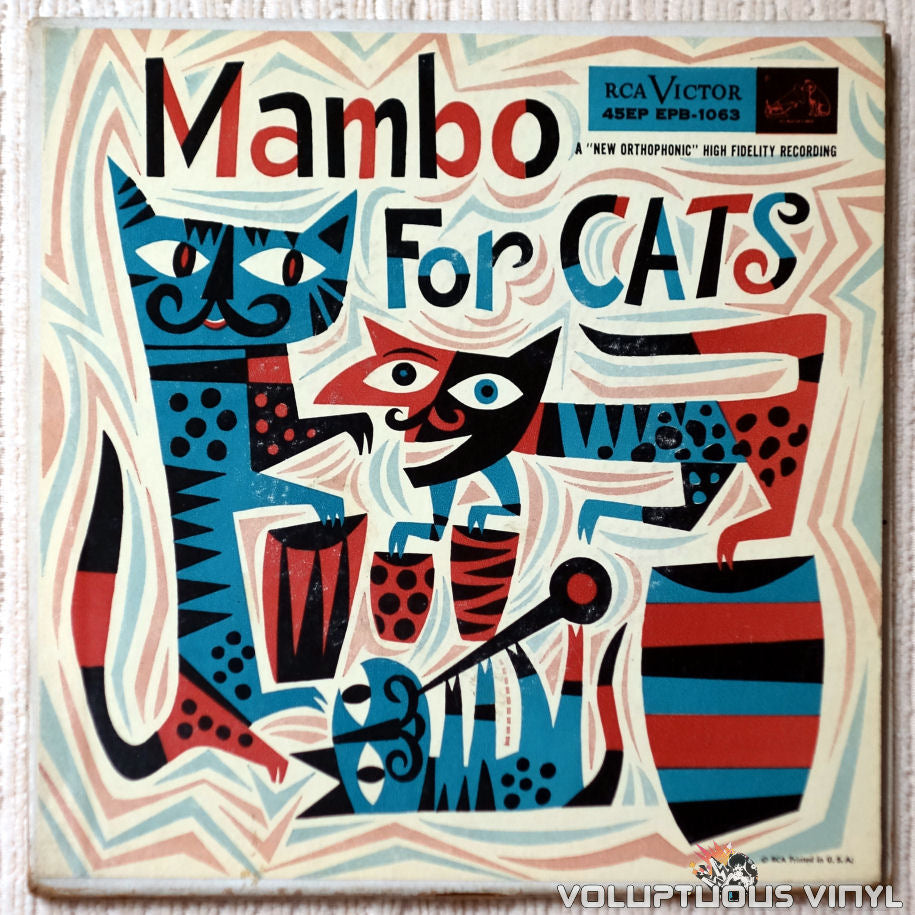 Various ‎– Mambo For Cats - Vinyl Record - Front Cover