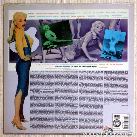 Mamie Van Doren ‎– The Girl Who Invented Rock 'n' Roll - Vinyl Record - Back Cover