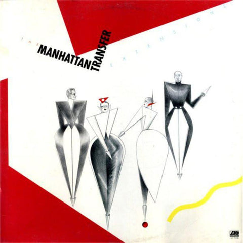 The Manhattan Transfer ‎– Extensions vinyl record front cover