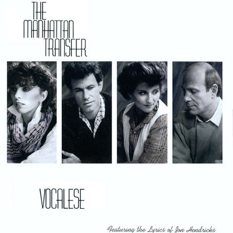The Manhattan Transfer ‎– Vocalese (1985) Vinyl Record
