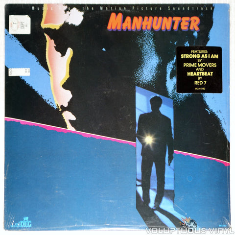 Various ‎– Manhunter Soundtrack - Vinyl Record - Front Cover
