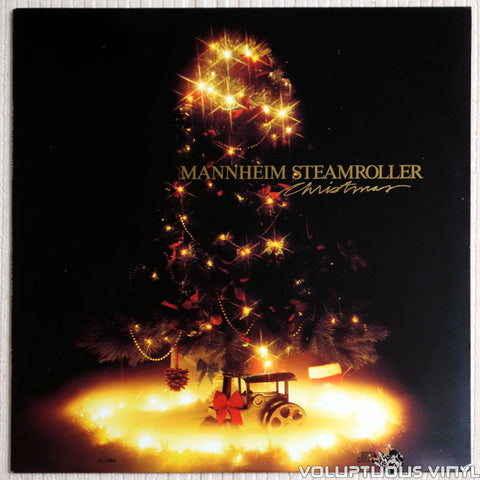 Mannheim Steamroller ‎– Christmas - Vinyl Record - Front Cover