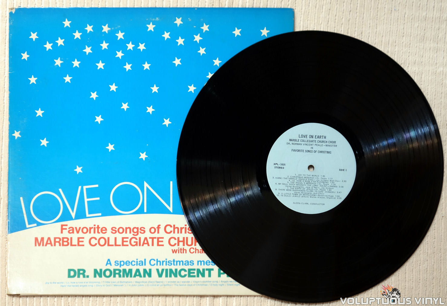Marble Collegiate Church Choir With Chamber Orchestra – Love On Earth:  Favorite Songs Of Christmas (?)