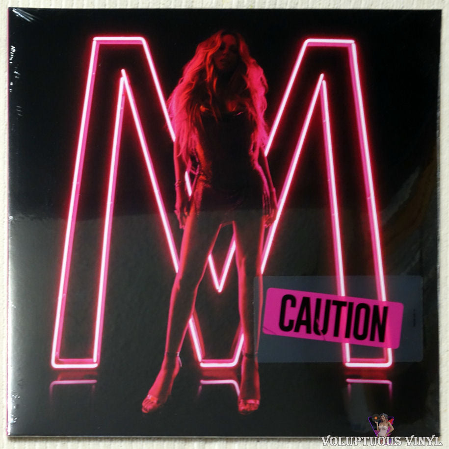 Mariah Carey ‎– Caution vinyl record front cover