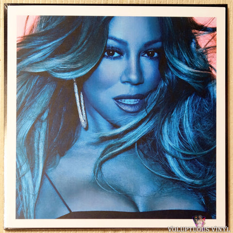 Mariah Carey ‎– Caution vinyl record lithograph photo
