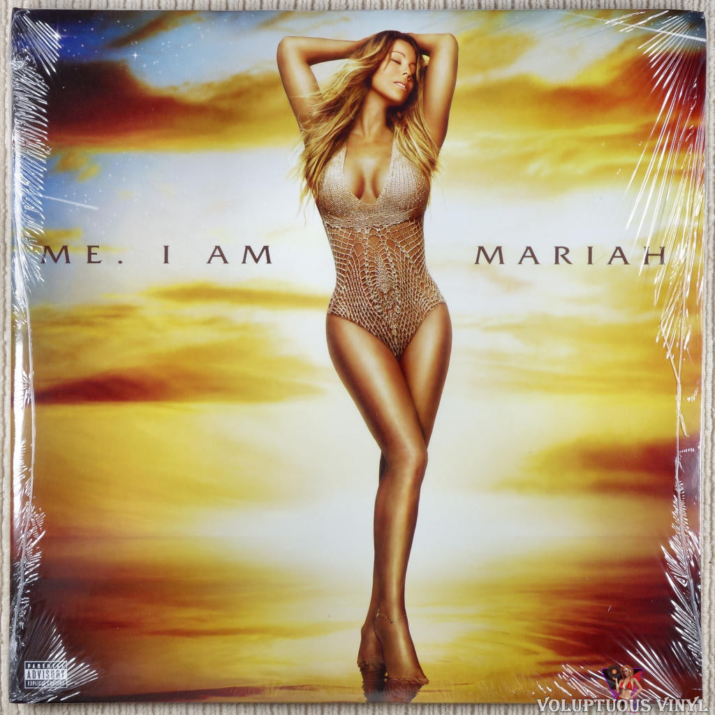 Mariah Carey ‎– Me. I Am Mariah... The Elusive Chanteuse vinyl record front cover
