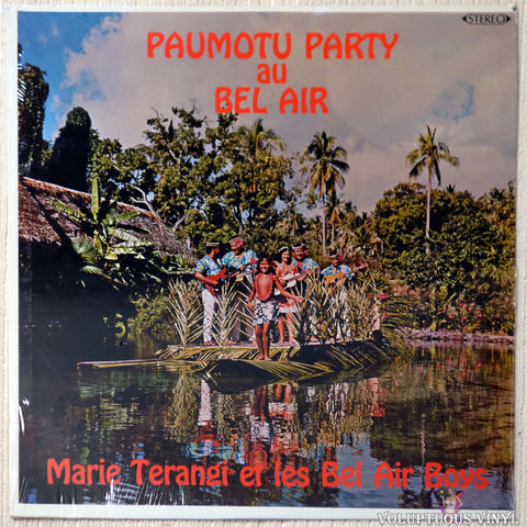 Marie Terangi Et Les Bel Air Boys ‎– Paumotu Party Au Bel Air (?) STEREO SEALED