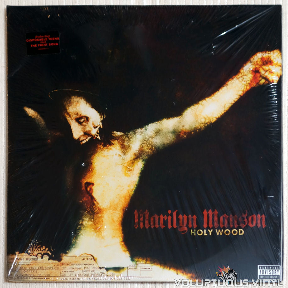 Marilyn Manson Holy Wood In The Shadow Of The Valley