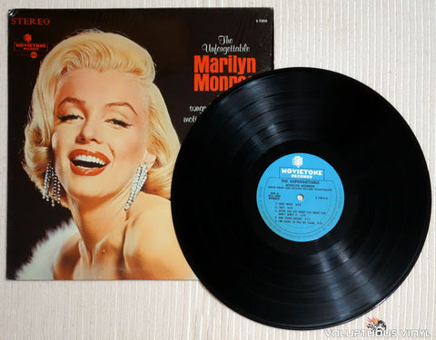 Marilyn Monroe ‎– The Unforgettable Marilyn Monroe Sings Songs From Her Original Motion Picture Soundtracks - Vinyl Record