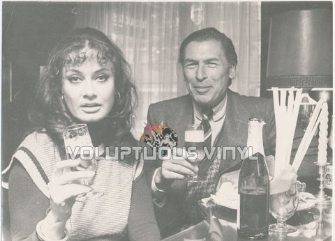 Marisa Mell 1980's Danish Press Photo