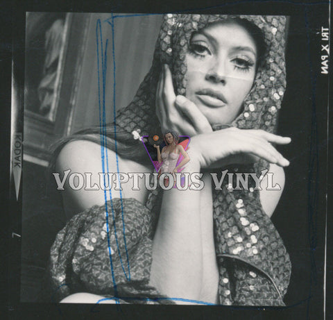 Marisa Mell Contact Sheet - 70's Sequin Scarf