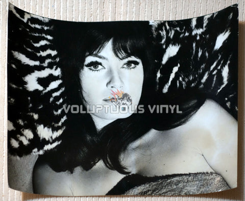 Marisa Mell Landscape Angelo Frontoni Photo In A Towel