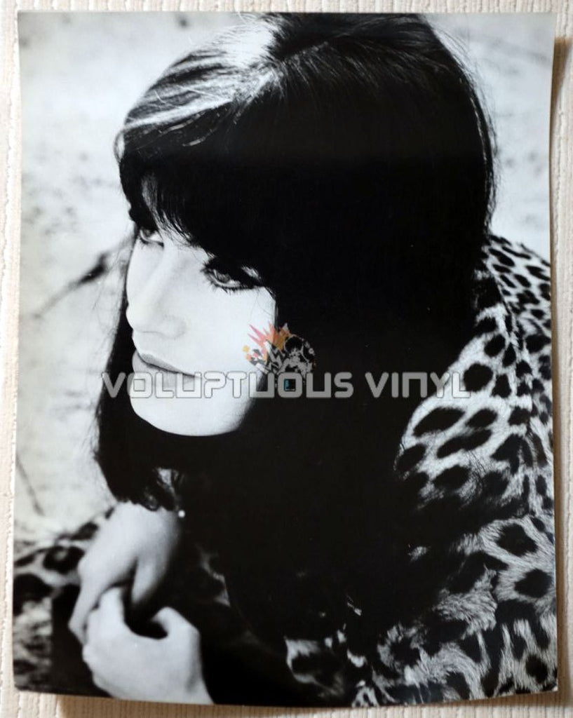Marisa Mell Portrait Angelo Frontoni Fur Coat Photo