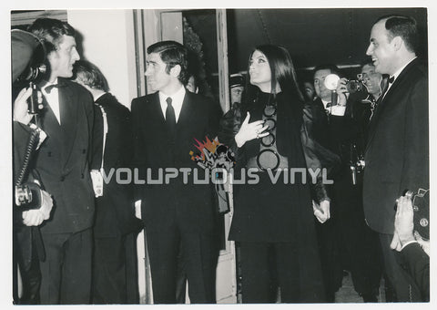 Original Photograph of Marisa Mell and Pier Luigi Torri at Cannes Film Festival